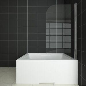 800X1400mm-Chrome-180-Pivot-Bath-Shower-Screen-Glass-Door-Panel