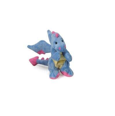 GO DOG Dragon w/Chew Guard Mini Periwinkle for Dog Toy Contains 1 (Go Dog Dragon)