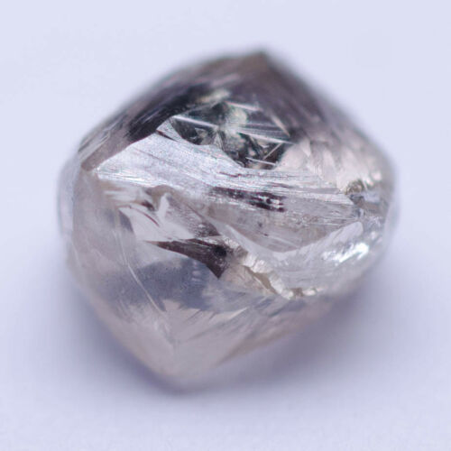 0.80 Carat OFF WHITE OCTAHEDRON Diamond Natural Rough Untreated