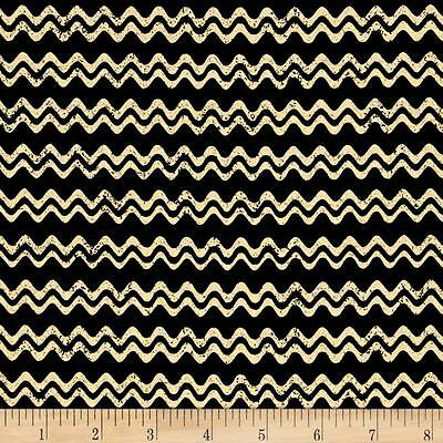 Jeepers Creepers Primitive Halloween Quilt Fabric Stripe Cream Premium Cotton](Jeepers Creepers Halloween Fabric)