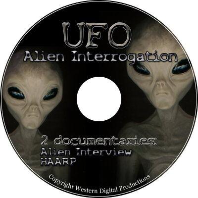 DVD 2 Video Set REAL Top Secret US Alien Interrogation UFO's Area 51 Documentary for sale  Shelton