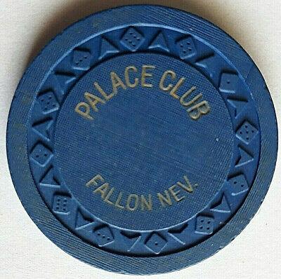 "Palace Club ""ROULETTE"" - FALLON NEVADA Casino Chip"