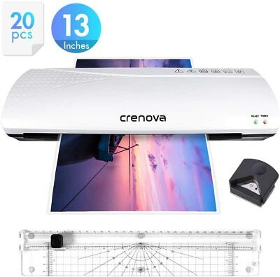 Crenova 13 Inches Laminator A3 With Paper Cutter For Multipurpose Office Home