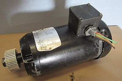 Sugino S26011 Industrial Motor 1725 Hp 240480v For Selfeeder Drill Unit