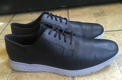 Timberland Franklin Park Black Oxford Lace Up Leather Shoes A3250 Men Size 11.5