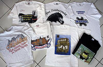 50 x T-Shirt S-Xxl auch Kinder Shirts Restposten Sonderpreis Stk. 0,50 € netto