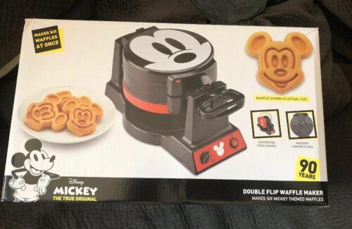 Disney Mickey Mouse 90th Anniversary Double Flip Waffle Make
