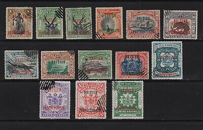 North Borneo - 14 from the 1901 overprint set - see scan