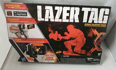 4 Hasbro Nerf Lazer Tag Single Blaster Packs SP02 iphone itouch game laser gun