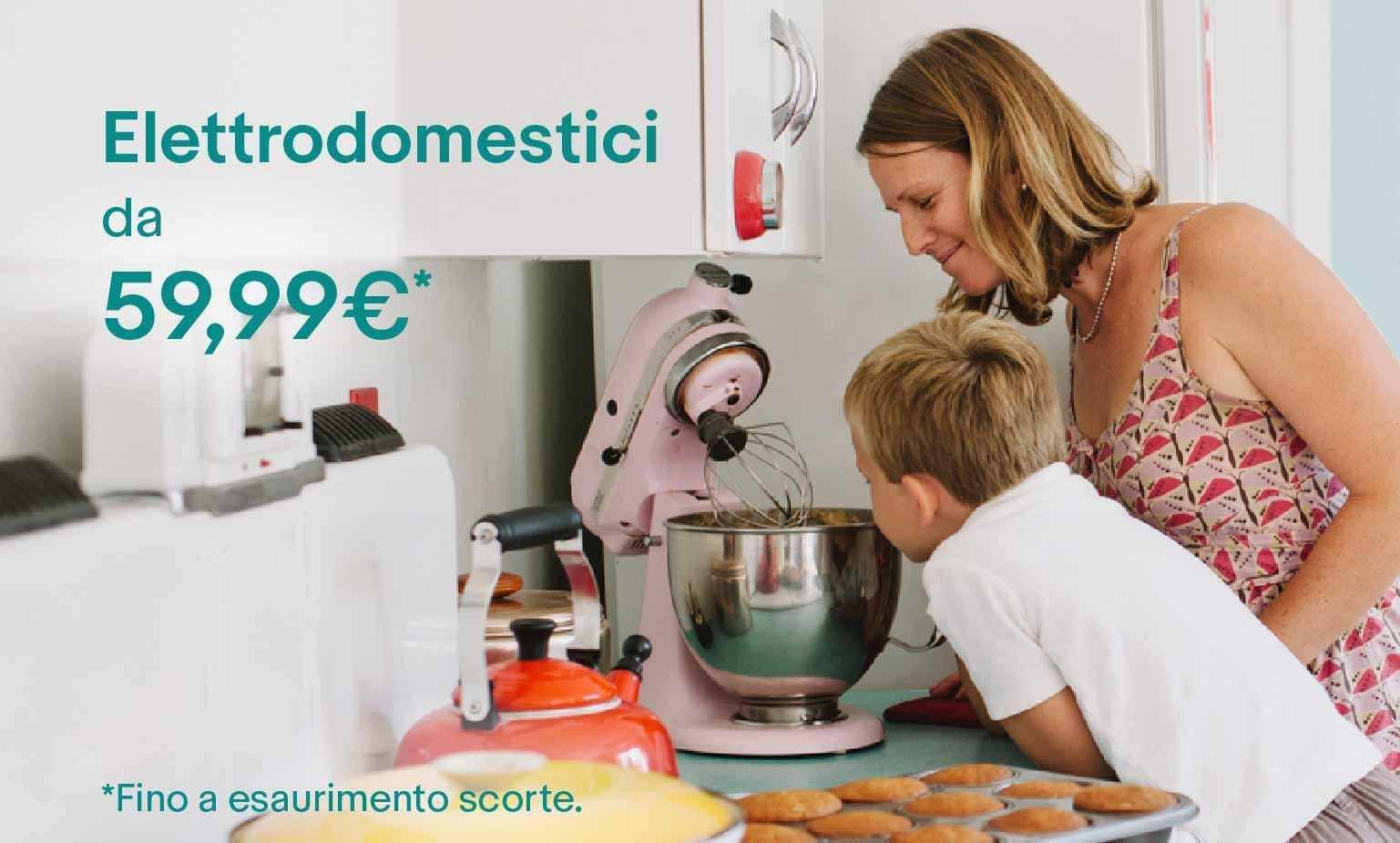Festa della Mamma: Elettrodomestici