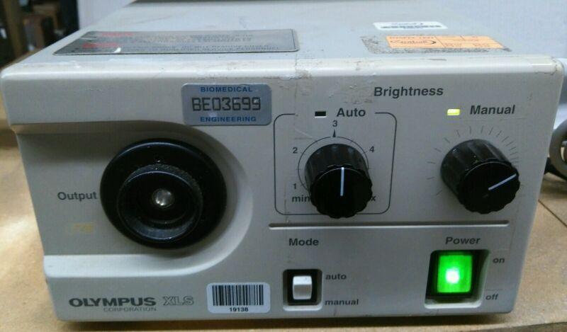 Olympus XLS light source