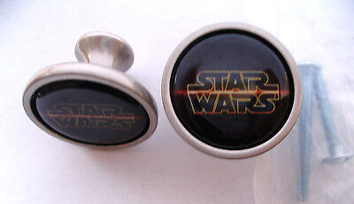 Star Wars Cabinet Knobs, Star Wars Logo Knobs, Star Wars Logo cabinet knobs