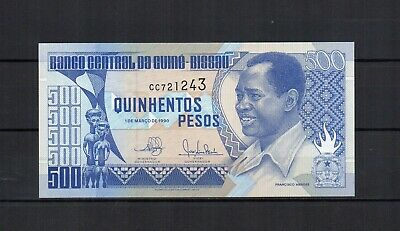 GUINEE BISSAU Guinea Bissau billet de 500 pesos de 01/03/1990 PK N° 12 NEUF UNC