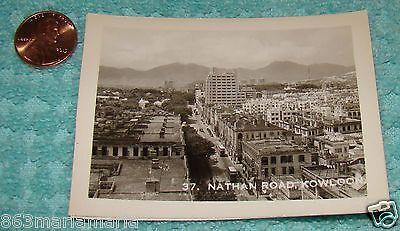 Vintage Souvenir Photo Nathan Road, Kowloon, Hong Kong