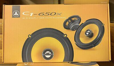 JL AUDIO 2-WAY 6.5 INCH 16.5cm CAR/VAN DOOR/SHELF COAXIAL SPEAKERS PAIR C1-650X