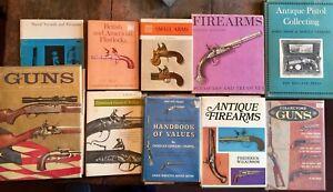 Lot of ten gun collecting books