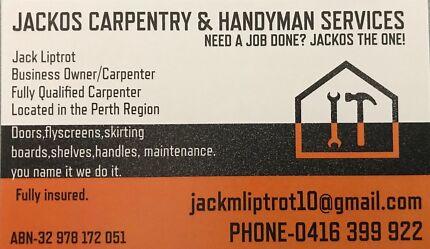 Jacko's Carpentry & Handyman Services