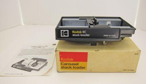 Vintage Kodak Carousel Slide Projector EC Stack Loader EC40 with Instructions