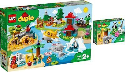 LEGO® DUPLO 10907 10904 Tiere der Welt Süße Tierkinder Wild Animals N6/19
