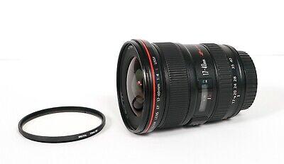 Canon EF 17-40 mm F/4 L USM Lens - Black