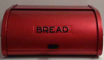 Candy Apple Boxen (Candy Apple Red Kromex Bread Box, Kromex Bread Box, Red Breadbox)