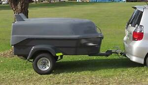 Lightweight fibreglass holiday / camping / luggage / box trailer! Waratah Newcastle Area Preview