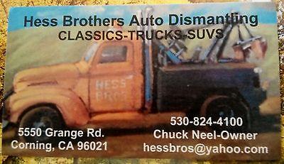 Hess Bros Auto Dismantling