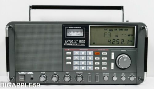 Grundig Satellit 800 Shortwave AM FM Radio Receiver *NICE PROGRAM LISTENING UNIT