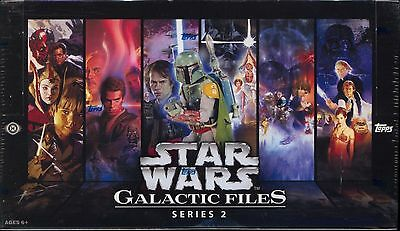 Topps Star Wars Galactic Files Series 2 Factory Sealed Hobby Box