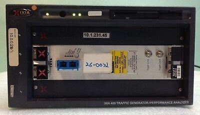 Ixia 400 Traffic Generator W Lm10ge223m Module
