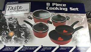 Taste the difference, 8 piece cooking set. Rockhampton Rockhampton City Preview