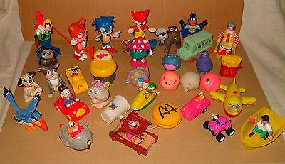33x altes Mc Donald's Spielzeug aus Juniortüten / Happy Meal - 80er/90er Jahre