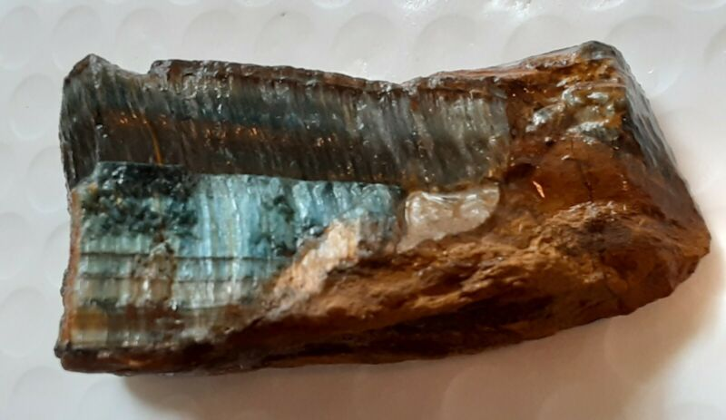 Excellent 472 Ct. Blue Tigers Eye Rough Natural. Lapidary.Healer Madagascar.