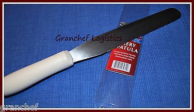 Bakery Icing Spatula   7 3 4  Stainless Steel Blade   Poly Hdl   Pro Grade   New