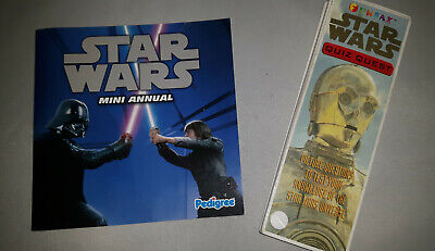 Star Wars Pedigree Mini Annual and FunFax Quiz Quest 1999