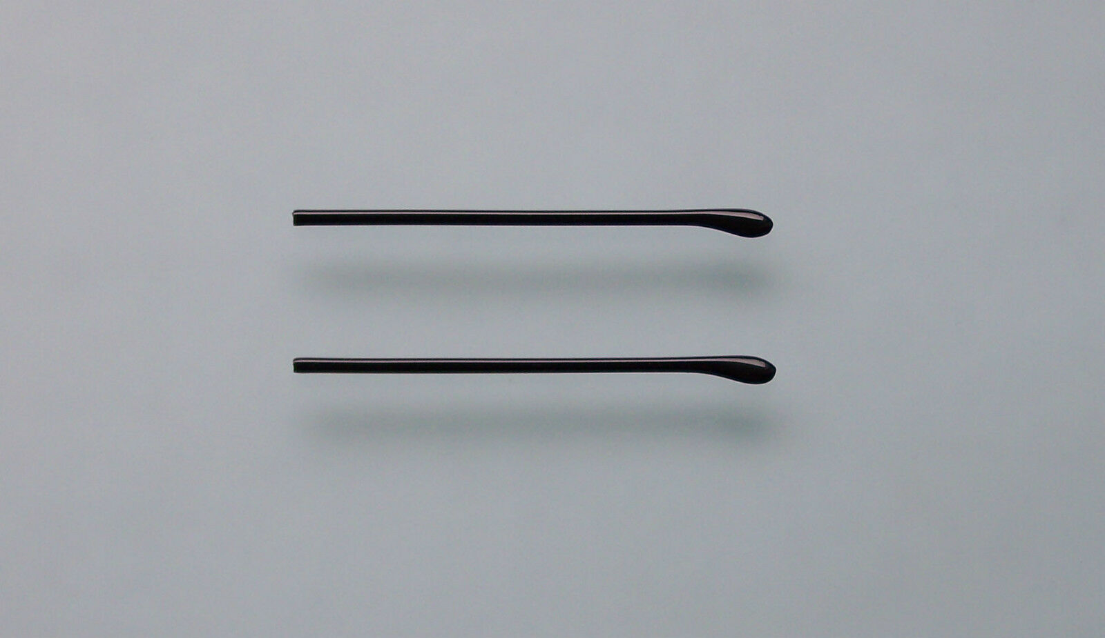 Bügelenden, Brillenende, Brillenbügel, Bügelende, schwarz, schmal, innen 1,05 mm