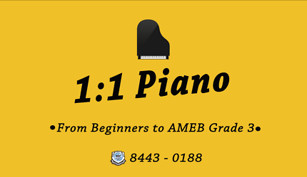 Piano Lessons (beginners to AMEB) in DURAL