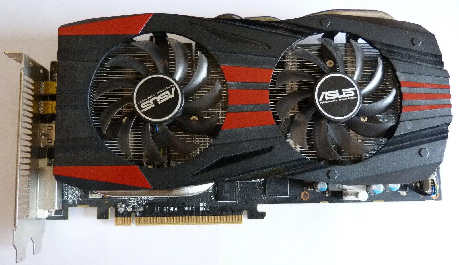 AMD Radeon R9 280X 3GB DDR5 PCI-E Grafikkarte Lüfter getauscht