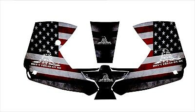 0700000800 Esab Sentinel A50 Welding Helmet Wrap Decal Sticker Dont America Flag