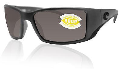 COSTA DEL MAR Blackfin 580 POLARIZED Sunglasses Matte Gray//Copper 580P NEW $169
