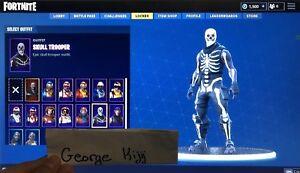 Fornite Skull Trooper Account (w/1500 bucks)