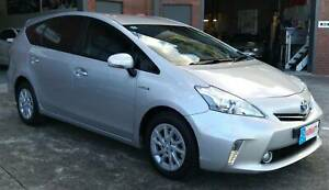 2014 Toyota Prius V Hybrid Wagon w/ Service books & 7 Seater Woodridge Logan Area Preview