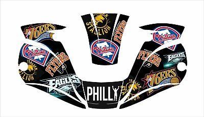 Miller Digital Elite Titanium Welding Helmet Decal Sticker Philadelphia Eagles