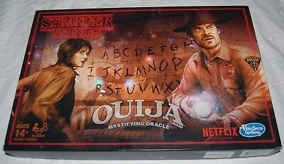 Stranger Things Ouija Game Haunted Spirit Board Netflix Hasbro TV Show Halloween - Halloween Haunt Show 2017