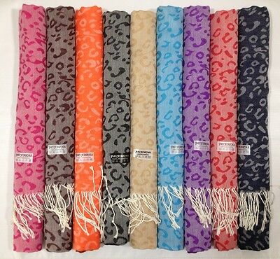 Wholesale lot of 12 Pashmina 100%  Scarf Shawl Cashmere Scarf Stole Wrap Women