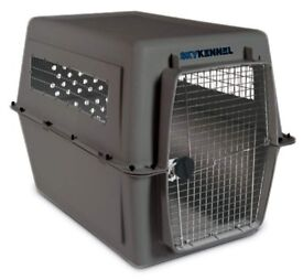 BARGAIN! Used ONCE - Dog crate for travel. Airline approved!