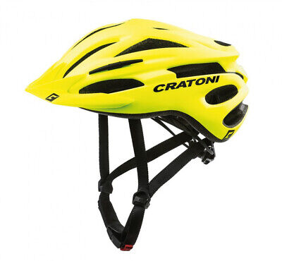 Cratoni Fahrrad Fahrradhelm Pacer MTB Gr. L/XL 58-62cm neongelb matt