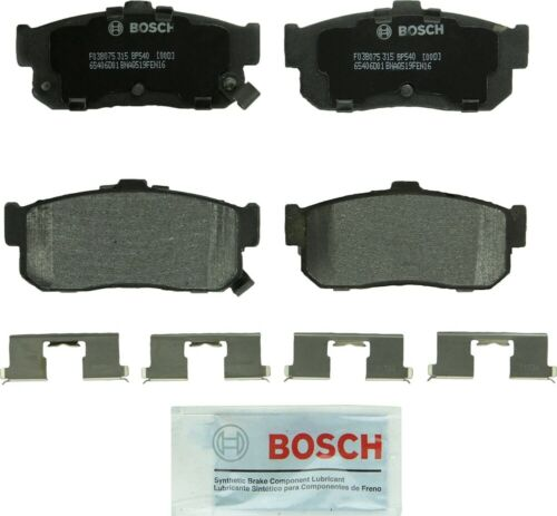 Disc Brake Pad Set-Quietcast Ceramic Pads with Hardware Rear Bosch BC1037