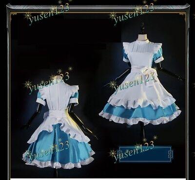 Custom Halloween Costumes Online (SAO Sword Art Online Alicization Alice Maid Dress Cosplay Costume Halloween)