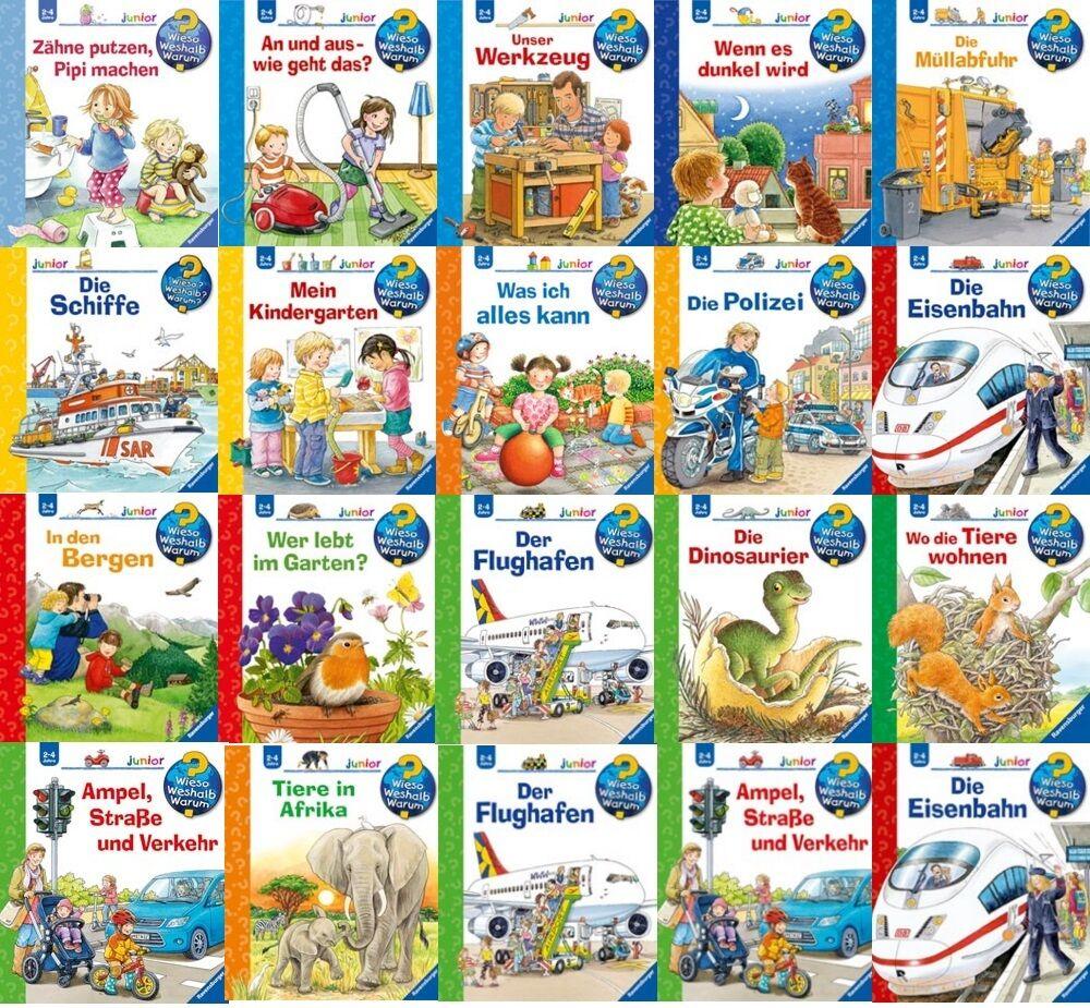 WWW Bücher Ravensburger Wieso Weshalb Warum Lernbuch Wissensbuch Kinderbuch